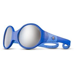 Julbo Loop L Spectron 4 Sunglasses Kids dark blue/blue/grey flash silver